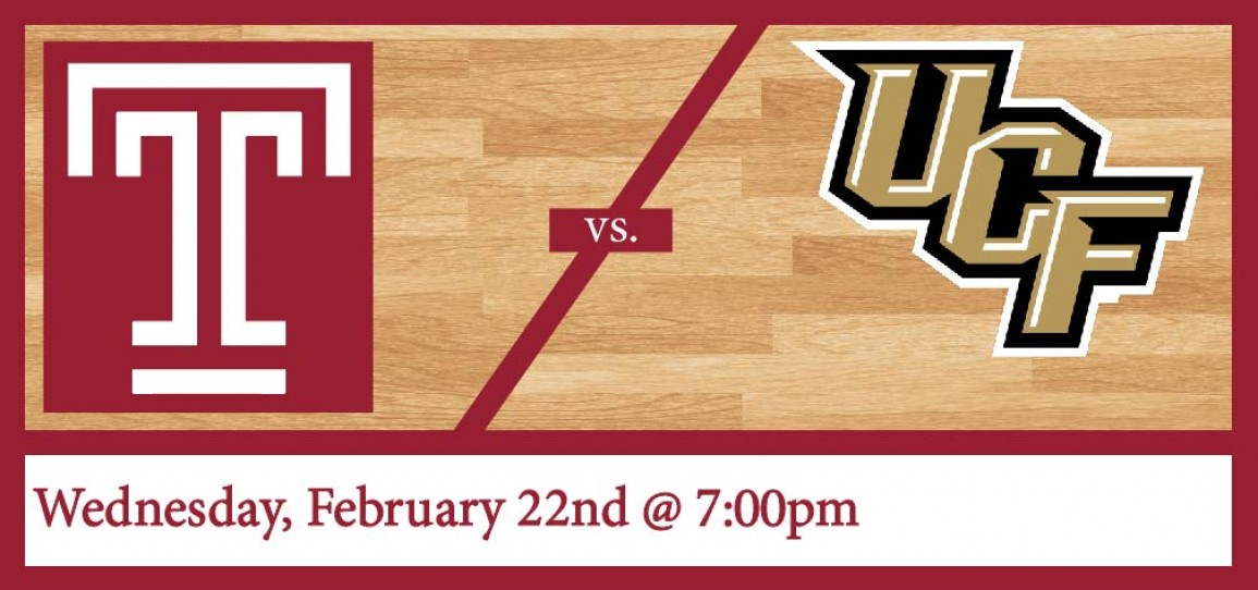 Temple Men's Basketball vs UCF: Cherry Out | The Liacouras