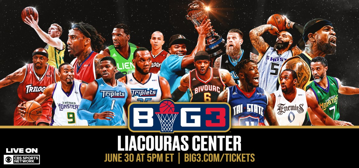 Image result for Big 3 Basketball Liacouras center