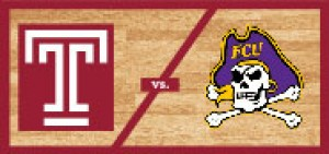Temple Men's Basketball vs East Carolina University