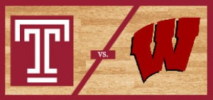 Temple Men's Basketball vs Wisconsin