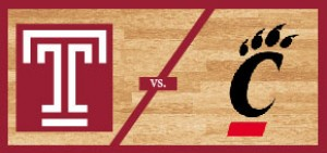 Temple Men's Basketball vs Cincinnati