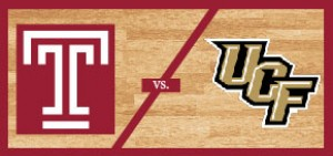 Temple Men's Basketball vs University of Central Florida