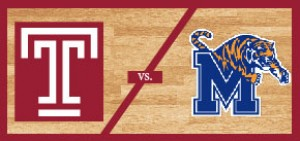 Temple Men's Basketball vs Memphis