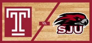 Temple Men's Basketball vs Saint Joseph's