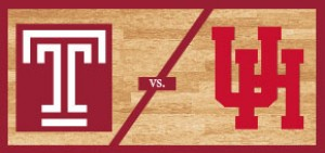 Temple Men's Basketball vs Houston