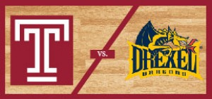 Temple Men's Basketball vs Drexel