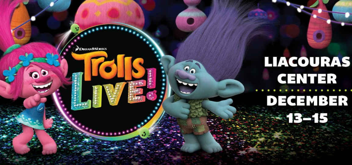 PUT YOUR HAIR IN THE AIR WITH TROLLS LIVE! IN PHILADELPHIA