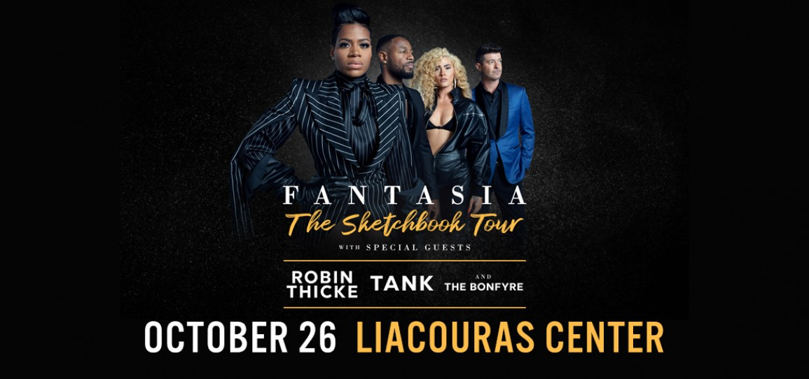 GRAMMY-WINNING, MULTI-PLATINUM SINGER, SONGWRITER  FANTASIA  Announces Headlining North American Tour  with Robin Thicke, Tank, and The Bonfyre