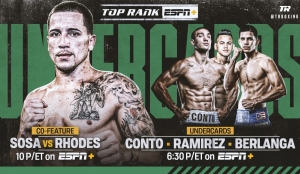 Jason Sosa-Haskell Lydell Rhodes Pegged for Carl Frampton-Emmanuel Dominguez Co-Feature